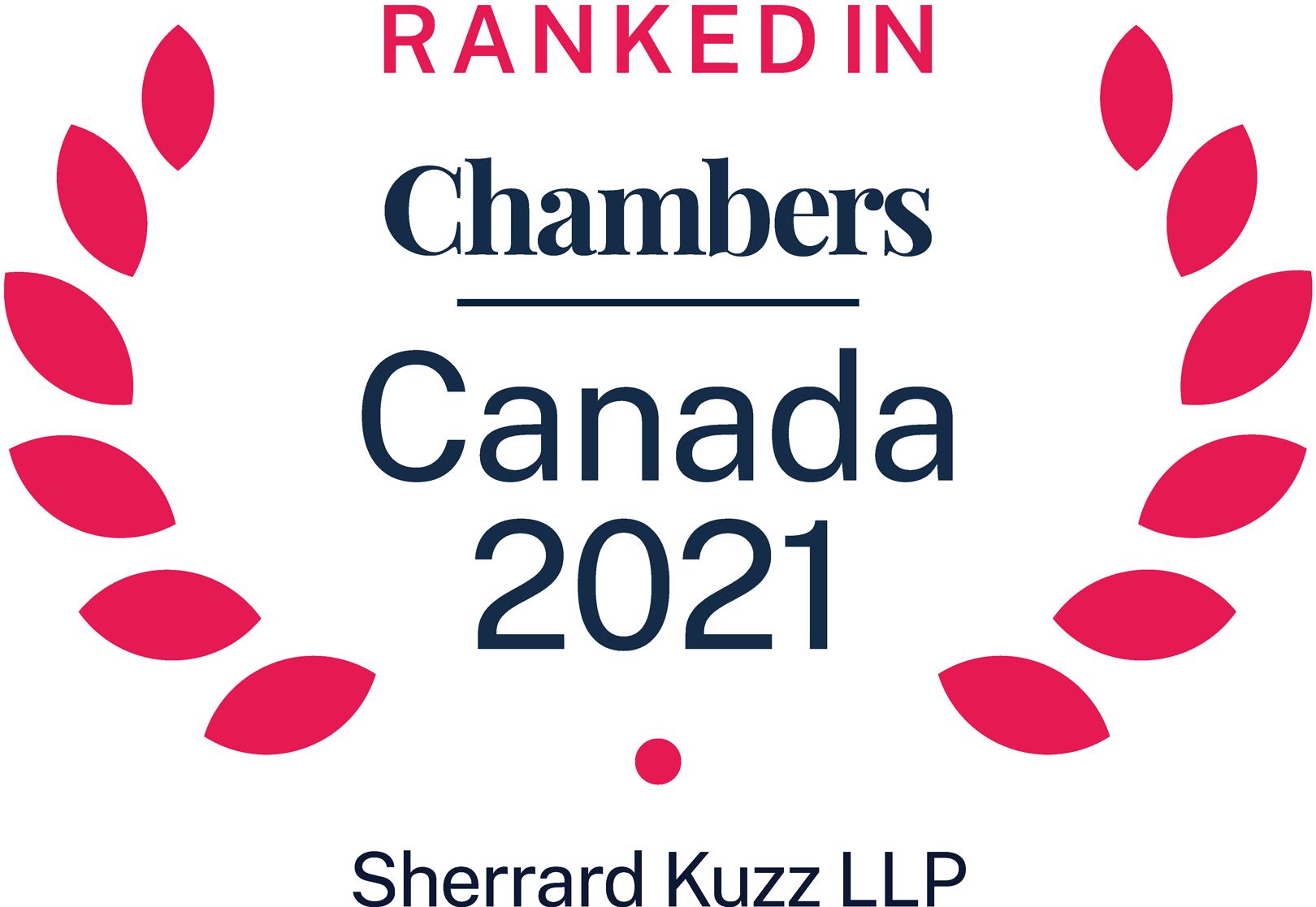 Chambers Adward 2021